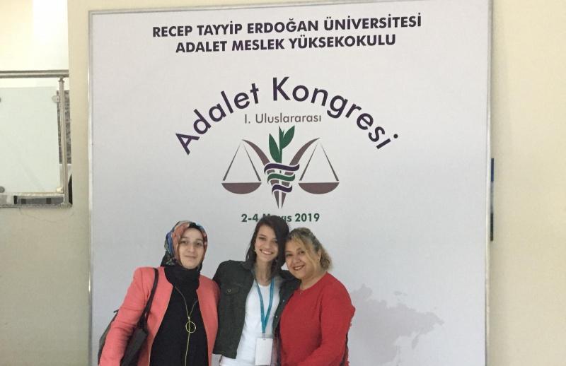 adalet alani 1 uluslararasi adalet kongresine katildi